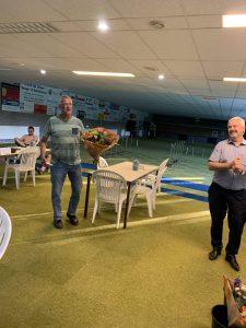 De heer Bart van Lankveld - 25 jaar lid